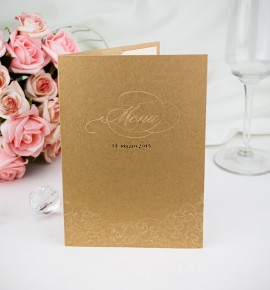 Svatební menu M2008