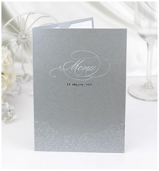 Svatební menu M2008B