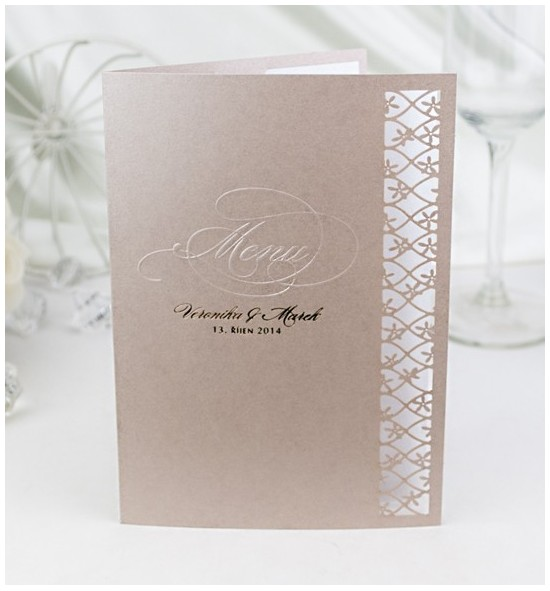 Svatební menu M2034