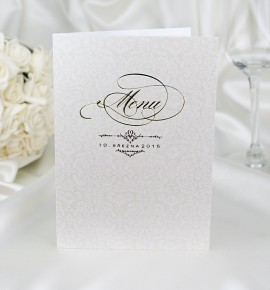Svatební menu M2048