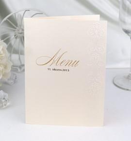Svatební menu M983