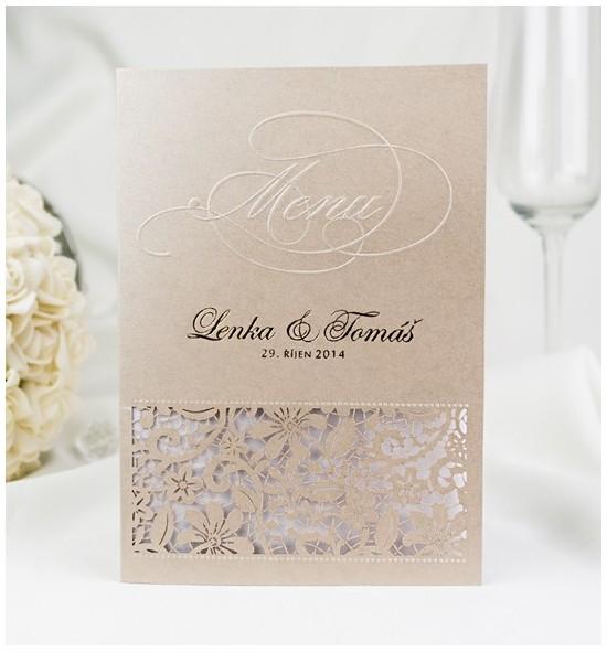 Svatební menu M2045