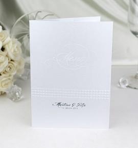 Svatební menu M908