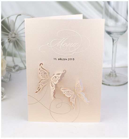 Svatební menu M966