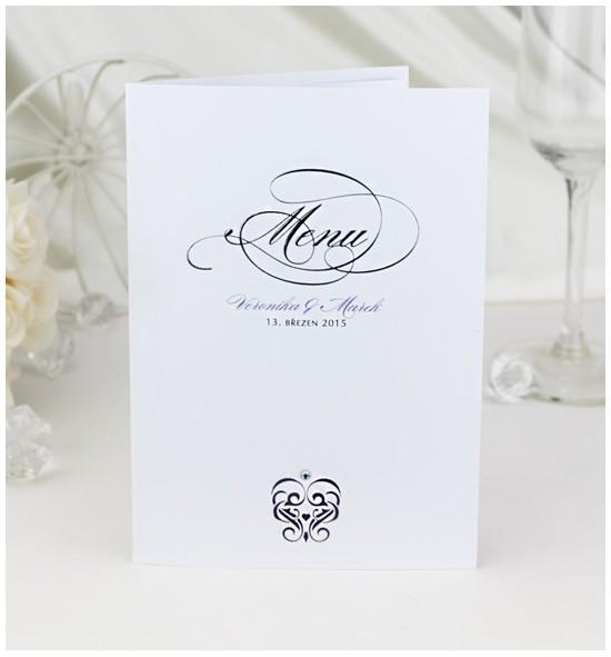 Svatební menu M969