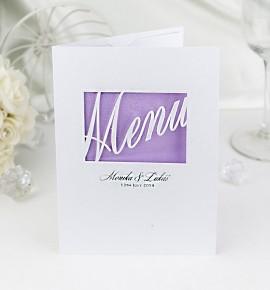 Svatební menu M972