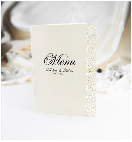 Svatební menu M977