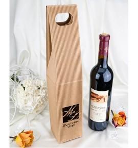 Krabice na svatební víno SKV0101 - monogramy