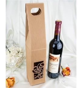 Krabice na svatební víno SKV0102 - ornament