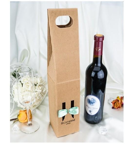 Krabice na svatební víno SKV2024C - zelená