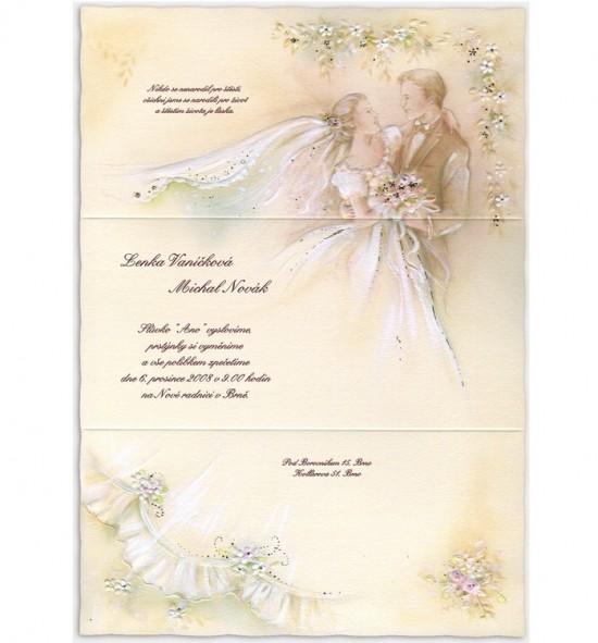 Svatební oznámení G709