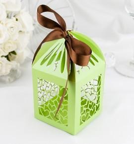 Svatební krabička na makronky - K667