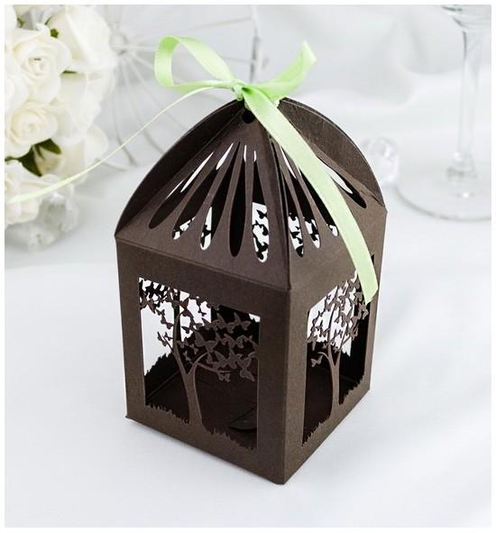 Svatební krabička na makronky - K670
