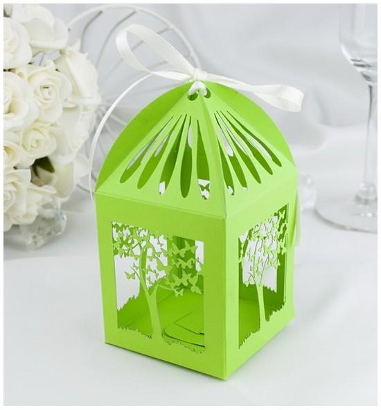 Svatební krabička na makronky - K671