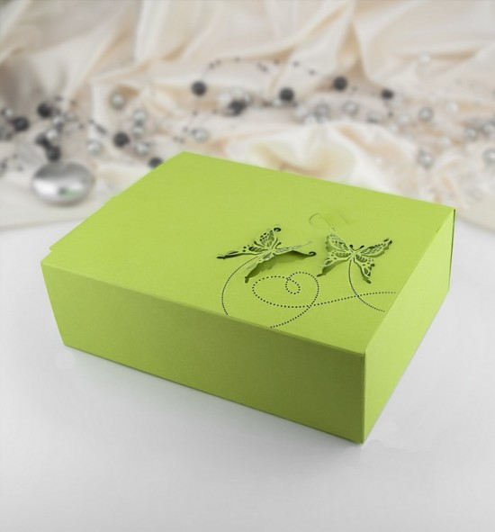 Svatební krabička na výslužku K210