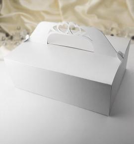 Svatební krabička na výslužku K502