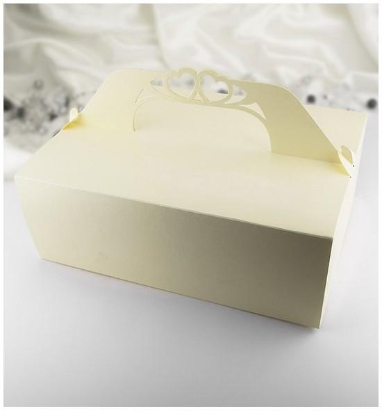 Svatební krabička na výslužku K503