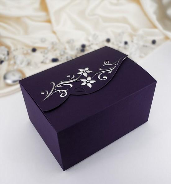 Svatební krabička na výslužku K708