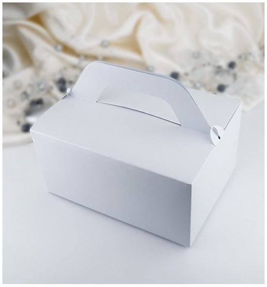 Svatební krabička na výslužku K802