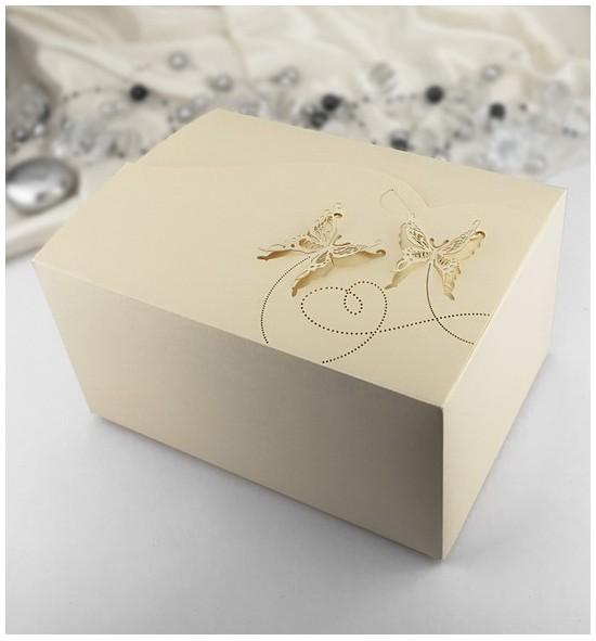 Svatební krabička na výslužku K953