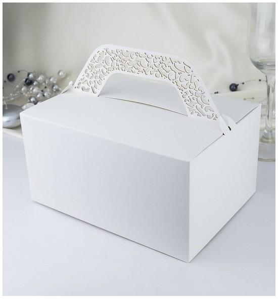 Svatební krabička na výslužku KK801