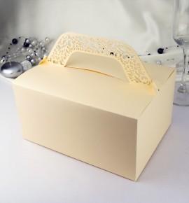 Svatební krabička na výslužku KK803