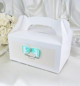 Svatební krabička s tiskem jmen - KNM2024B