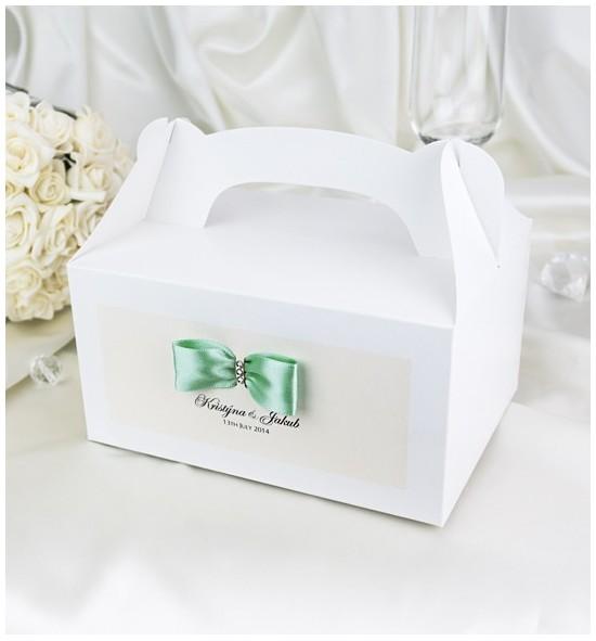 Svatební krabička s tiskem jmen - KNM2024C