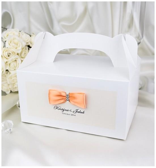 Svatební krabička s tiskem jmen - KNM2024D
