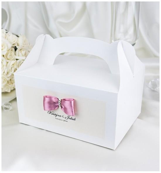 Svatební krabička s tiskem jmen - KNM2024E