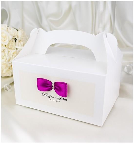 Svatební krabička s tiskem jmen - KNM2024F