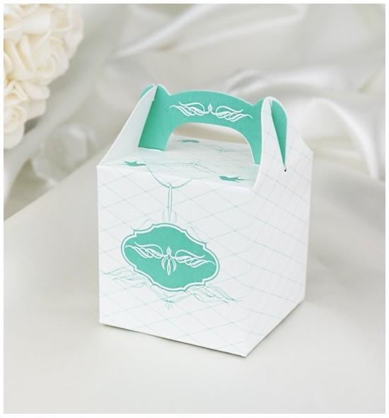 Svatební krabička na dárky/mandličky - K1046