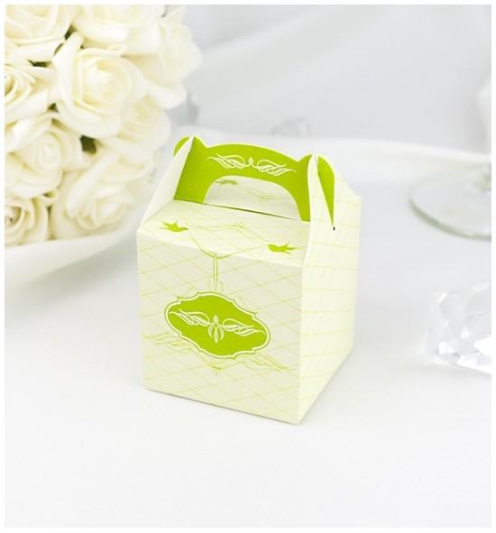 Svatební krabička na dárky/mandličky - K1062