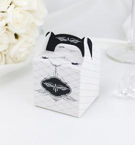 Svatební krabička na dárky/mandličky - K1063