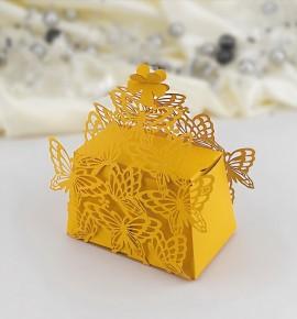 Svatební krabička na dárky/mandličky - K604