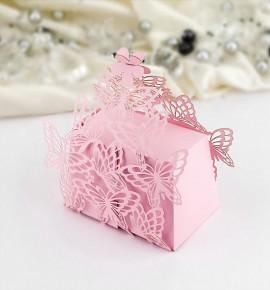 Svatební krabička na dárky/mandličky - K605