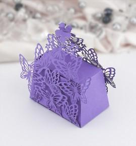Svatební krabička na dárky/mandličky - K607