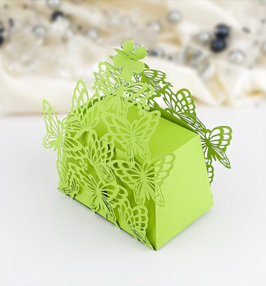 Svatební krabička na dárky/mandličky - K610