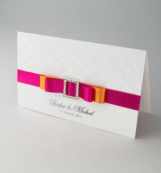 Svatební oznámení na míru - NM10