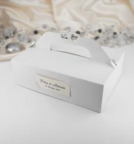 Svatební krabička na výslužku - K101
