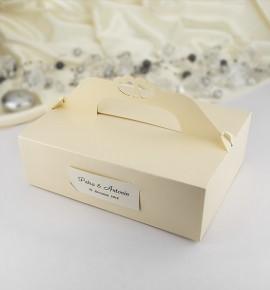 Svatební krabička na výslužku - K103