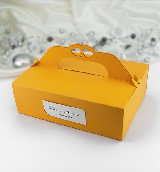 Svatební krabička na výslužku - K104