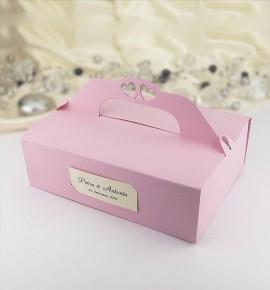 Svatební krabička na výslužku - K105