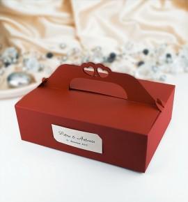 Svatební krabička na výslužku - K106