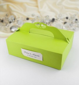 Svatební krabička na výslužku - K110