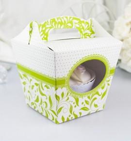 Svatební krabička na cupcake - KC1011