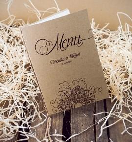 Svatební menu M2052