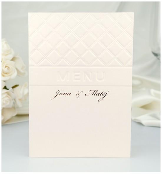 Svatební menu M2054
