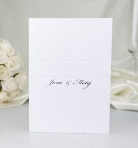 Svatební menu M2055