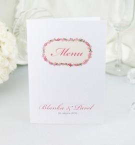 Svatební menu M2059